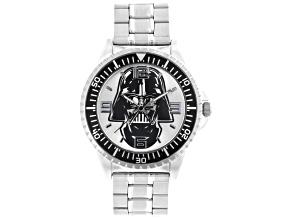 Disney ® Star Wars ™ Silver Tone Darth Vader Watch