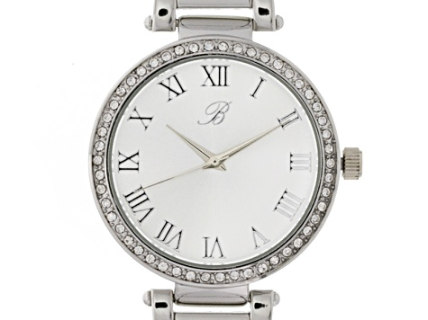 White Crystal Three-Tone Watch Set Of 4
