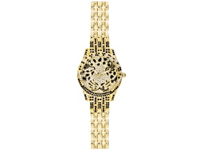 multicolor crystal Yellow jaguar watch