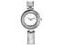 Ladies Silver Tone & Crystal Watch
