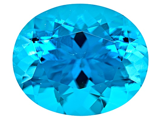 Paraiba Tourmaline Simulant Minimum 4.00ct 12x10mm Oval