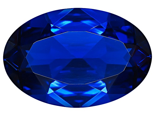 Lab Created Blue Spinel Average 2.75ct 12x8mm Oval