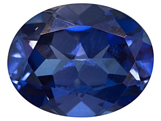 Lab Created Blue Sapphire Average 3.25ct 10x8mm Oval