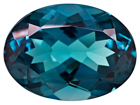 Brazilian London Blue Topaz Average 15.25ct 18x13mm Oval