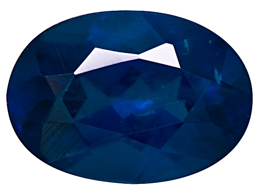 Brazilian Royal Blue Apatite Minimum .75ct 7x5mm Oval