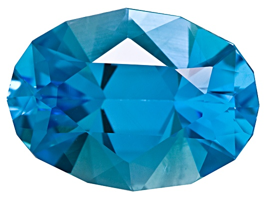 Brazilian Swiss Blue Topaz Minimum 5.50ctw 14x10mm Oval Spree Cut(Tm)