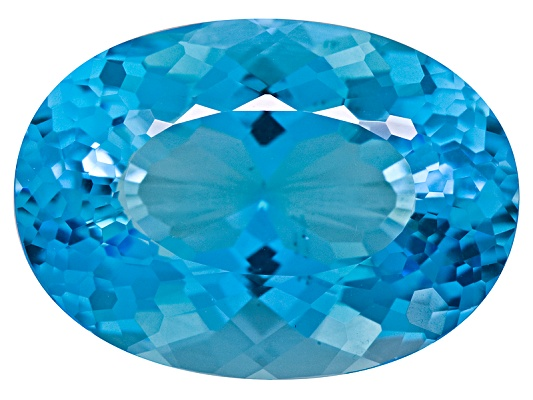 Brazilian Swiss Blue Topaz Minimum 11.25ctw 16x12mm Oval Custom Cut