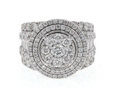 White Diamond 14k White Gold Ring 5.00ctw