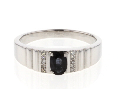 Color Shift Garnet Rhodium Over Sterling Silver Ring .85ctw