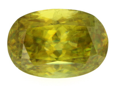 Sphene 13.5x9.5mm Oval 7.99ct
