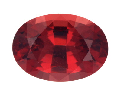 Red Spinel 9.32x6.67mm Oval Mixed Step Matched Pair 1.19ctw