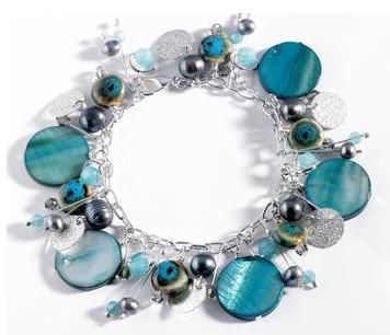 Aqua Treasures Bracelet
