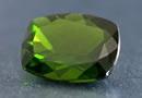 one green chrome diopside gemstone