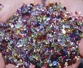 mix of small colored gemstones