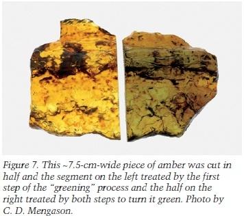 Enhanced amber