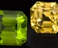 Green and Yellow Gemstones