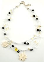 Goldfinch Garden Necklace