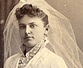 old photo of bride