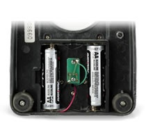 place batteries inside base