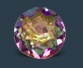 purple and yellow topaz