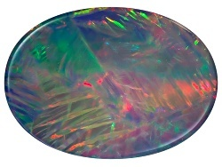 multicolored opal gemstone