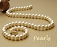 single strand of pearls