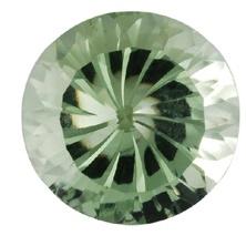 green prasiolite gemstone