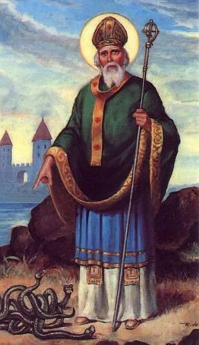 illustration of saint patrick