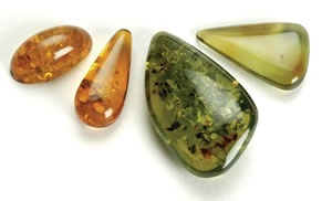 4 loose gemstones