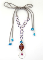 Tri-Colore Necklace