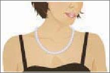 princess-length necklace