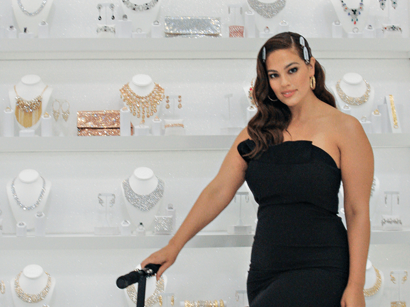 Ashley Graham and JTV Jewelry