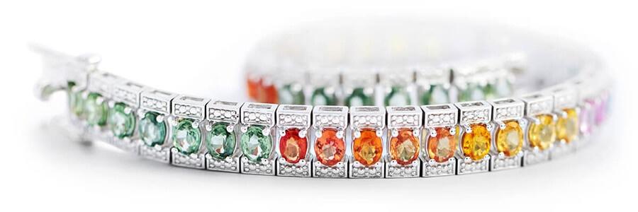 Color Gemstone Bracelets