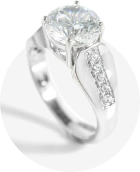 Statement Bridal Ring