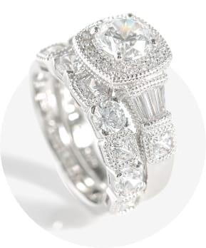 Vintage Inspired Bridal Ring