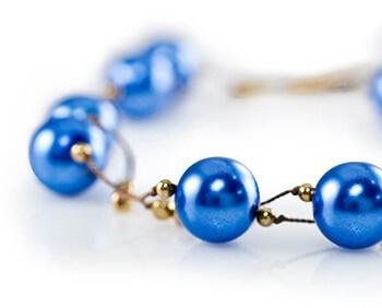 Beaded Jewel School Bracelet