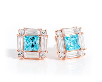 blue Bella Luce earrings