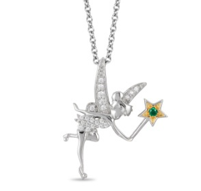 Enchanted Disney Fine Jewelry Tinker Bell Pendant