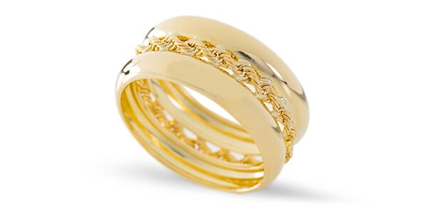 yellow jewelry ring gold diamond trendy delhi detail large by tanishq rings