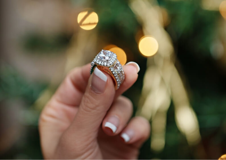 Show Host Picked Bella Luce ring