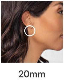 20mm Hoop Earrings
