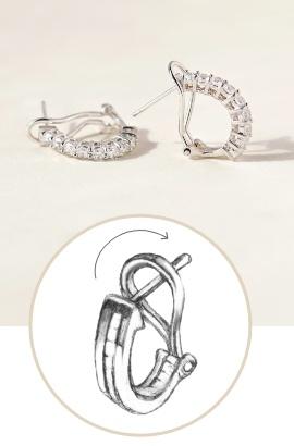 Omega Earrings