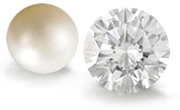 Pearl & Diamond Gemstones