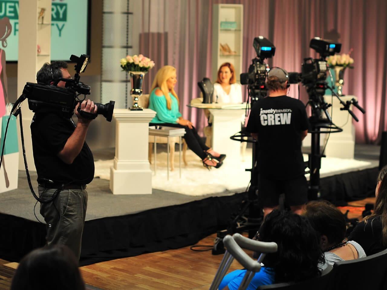 Hosts during a live JTV broadcast