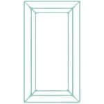 Rectangle Gemstone
