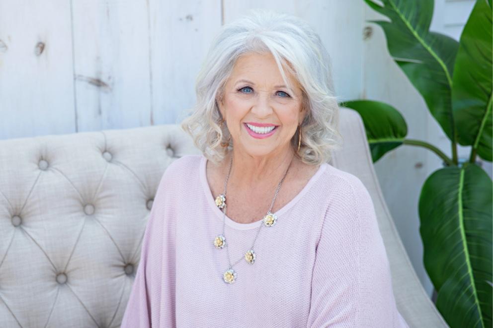 Paula Deen Wearing Jewelry