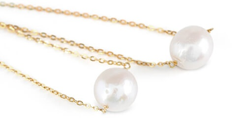 Genusis Pearls Freshwater Pearl Necklace