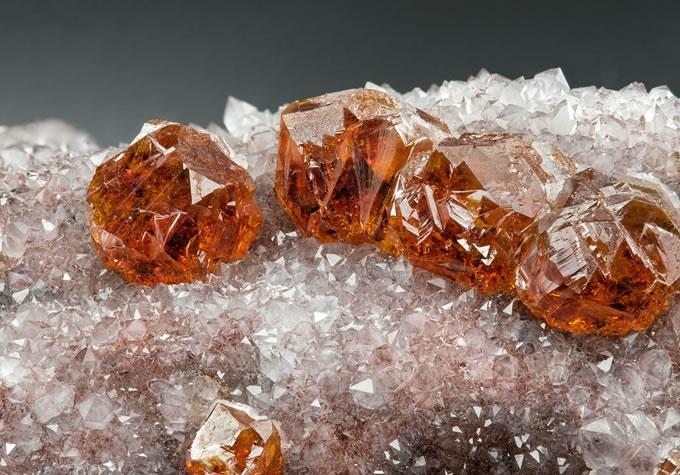 Sphalerite gemstone specimen