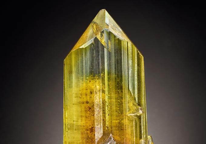 Anglesite gemstone specimen