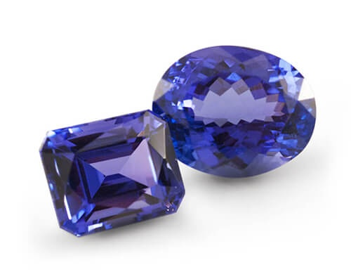 Two Vault Tanzanite Gemstones